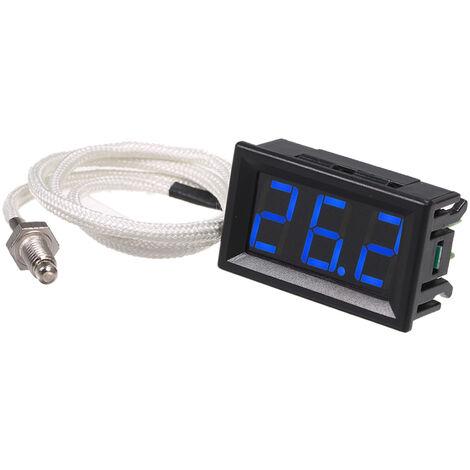 Thermometer, -30 ~ 800 Grad, blaues Licht