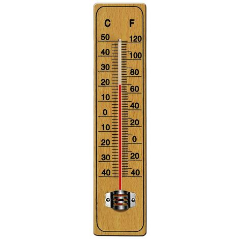 Thermometer aus Holz