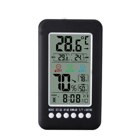 Thermometer, Hygrometer, Klangregelung, Wecker