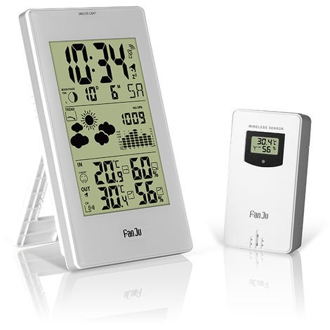 Thermometer, Hygrometer, Wireless Weather Station