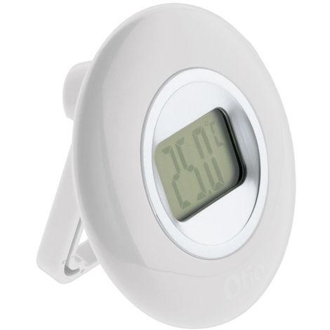 Thermomètre Ø77 à écran LCD - différents coloris disponibles