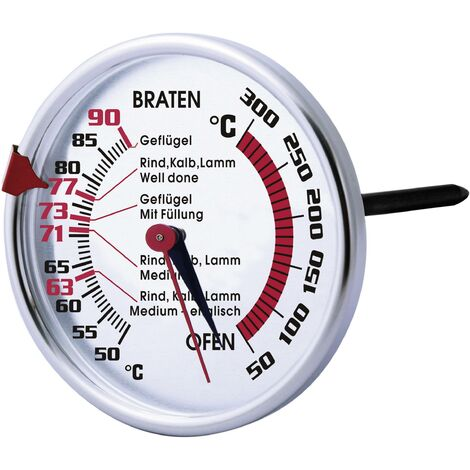 Thermomètre à viande et four avec revêtement anti-adhésif X45264