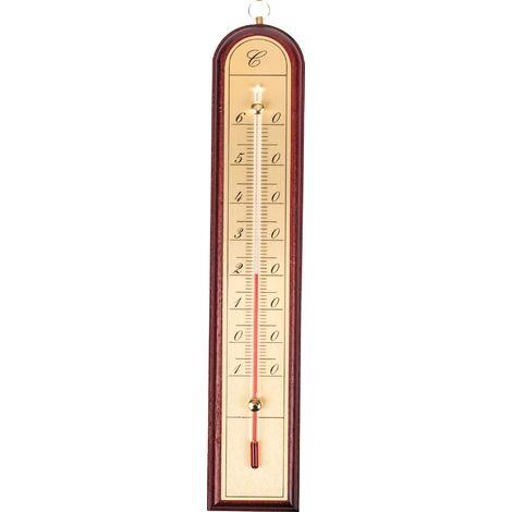 "main image of ""Thermomètre aluminium et or Stil - Bois"""