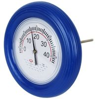 Thermomètre bouée pour piscine avec cordon - Bleu - Linxor