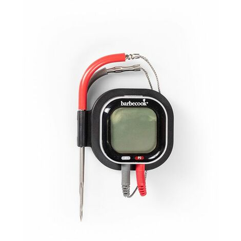Thermomètre connecté pour barbecue Barbecook - Noir