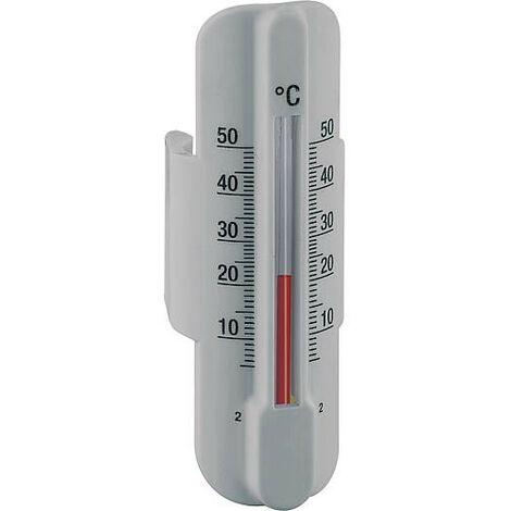 Thermometre d applique pour circuit de chauffage tube15-18mm accessoires pour repartiteur plastique