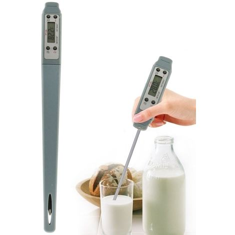 Thermomètre de cuisson de nourriture Digital d'affichage à cristaux liquides de PT-04, ranger de la température: -50 à 300 degré