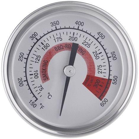 Thermomètre de cuisson industriel de de barbecue précis d'affichage d'acier inoxydable avec le verre anti-brouillard