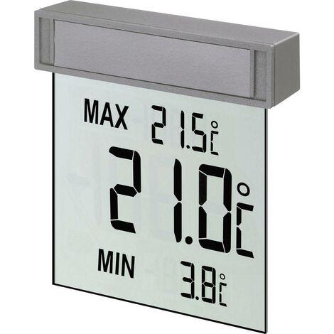 Thermomètre de fenêtre TFA Dostmann 30.1025 argent