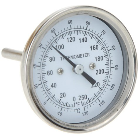 Thermometre De Four En Acier Inoxydable, Haute Precision