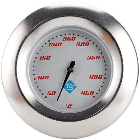 Thermometre de four KKmoon (neutre) 50-450 ¡æ pointeur thermometre de four grill en acier inoxydable TS-BX57