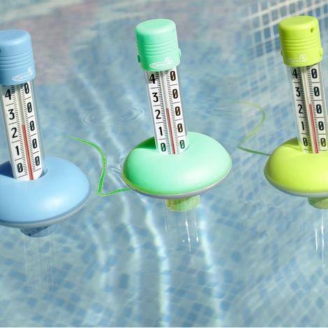 Thermomètre de piscine couleur aléatoire KERLIS - Multicolore - Extérieur - Etanche