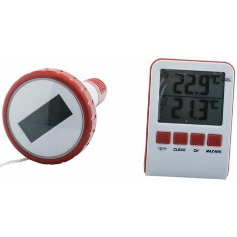 Thermomètre de piscine ou spa digital sans fil