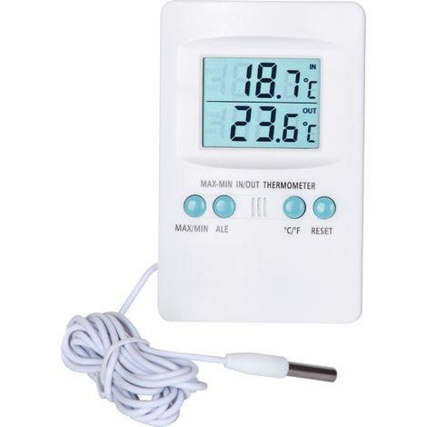 Thermomètre digital intérieur et extérieur Stil - De -50 à 60 °C