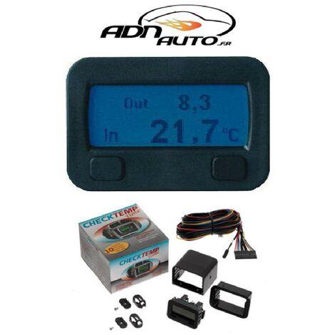 Thermometre digital interieur-exterieur 12V - CHECKTEMP Generique