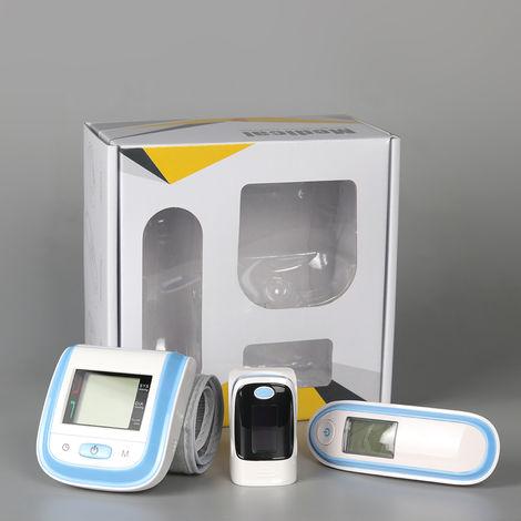 Thermometre Electronique Infrarouge, Oxymetre Et Sphygmomanometre, Gris