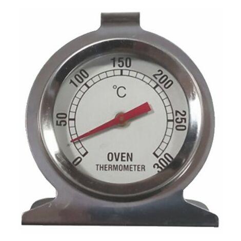Thermomètre four en acier inoxydable 300°C - DIFF