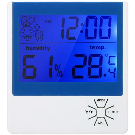 Thermometre Hygrometre, Avec Retroeclairage