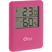 Thermomètre / Hygromètre magnétique - différents coloris disponibles