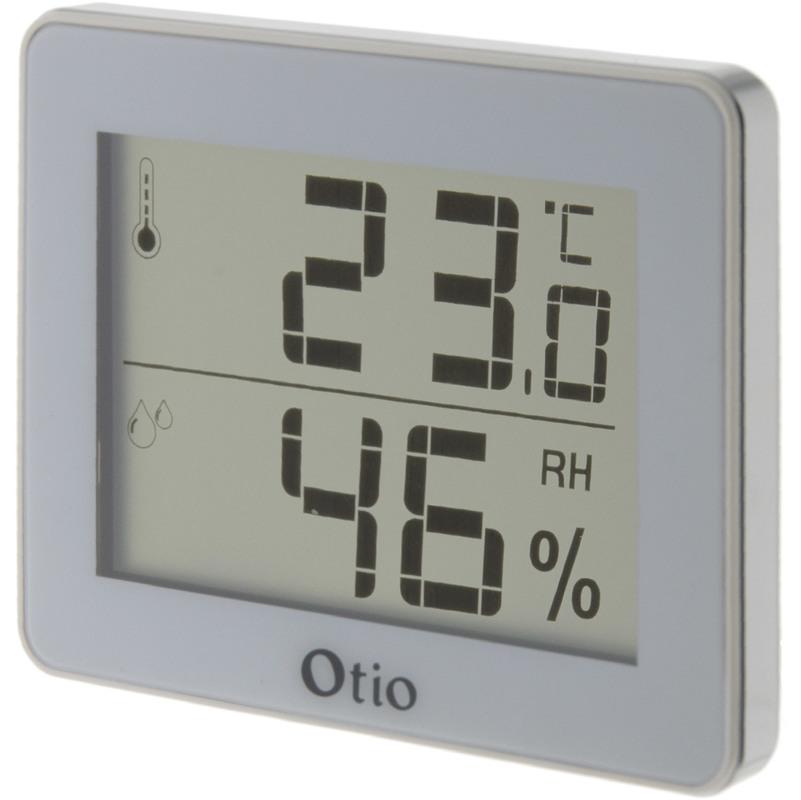 Hygromètre intérieur magnétique Vert Otio Thermomètre