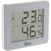 Thermomètre / Hygromètre - Noir et blanc