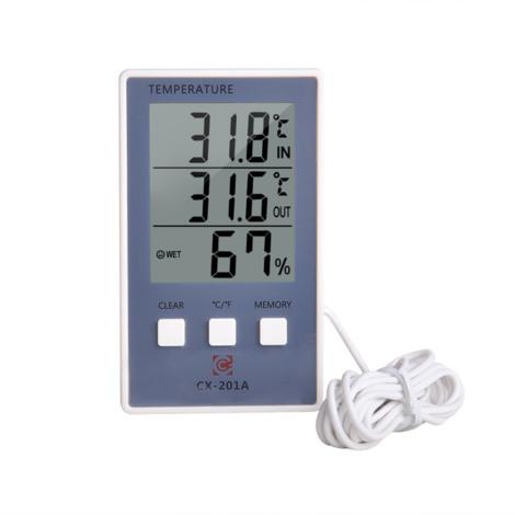 Thermometre Hygrometre Numerique, Lcd