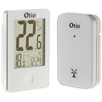 Thermomètre int/ext sans fil - Noir et blanc