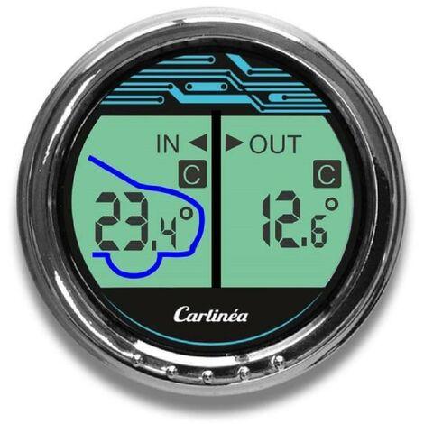 Thermometre intérieur/extérieur Carlinea