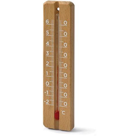 Thermomètre intérieur / extérieur, Thermo Bois, Thermo bois