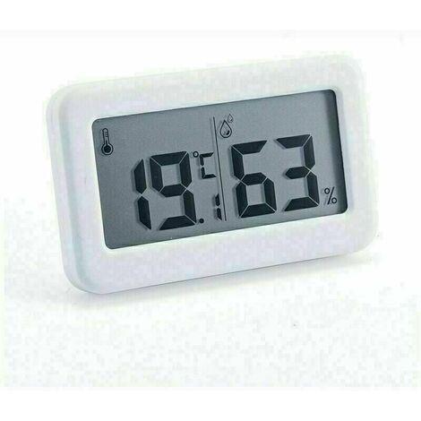 Thermomètre Interieur Hygromètre - Haute Précision - Indicateur De Température Et D'humidité Numérique