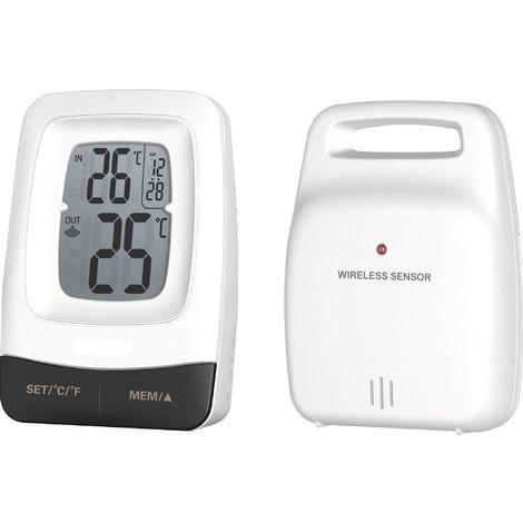 """main image of """"Thermomètre mini-maxi sans fil Stil - Longueur 95 mm - Largeur 70 mm"""""""