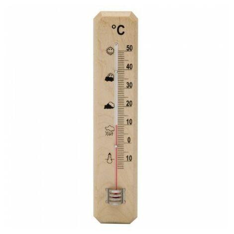 """main image of """"Thermomètre mur / jardin madera 20 cm."""""""