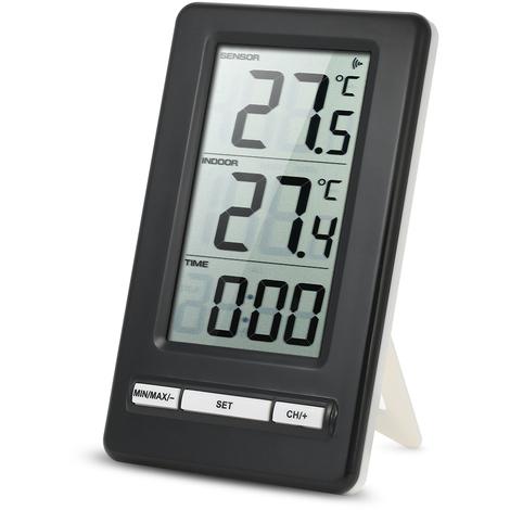Thermometre Numerique Lcd Sans Fil ¡ã C / ¡ã F