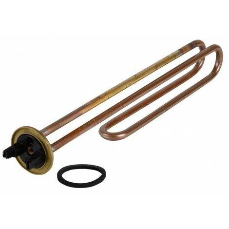 Thermoplongeur cuivre avec doigt de gant - à brides