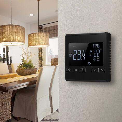 Thermostat A Ecran Tactile Lcd, Controleur De Temperature Ac85-240V