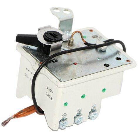 Thermostat à régulation et sécurité tripolaire