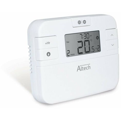 Thermostat ALTECH programmable hebdomadaire, Ref.ALTHC004i