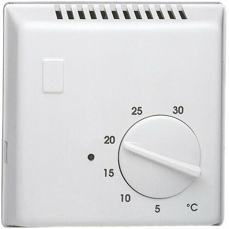 Thermostat ambiance bi-métal chauf eau chaude avec contact à ouverture 230V (25809)