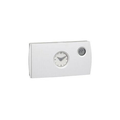 Thermostat ambiance programmable analogique chauf eau chaude 4 fils sur 24h 230V (56512)