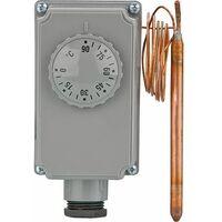 Thermostat Aquastat a boitier GT 0-90°C - lg capillaire 1000mm