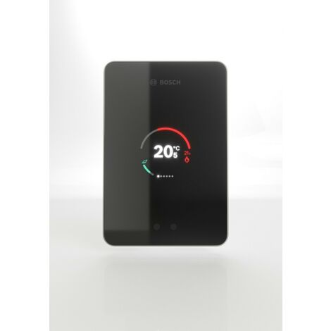 Thermostat Bosch Régulation d'ambiance tactile connectée easycontrol CT200 noir