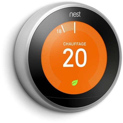 Thermostat connecté NEST LEARNING 3EME GENERATION