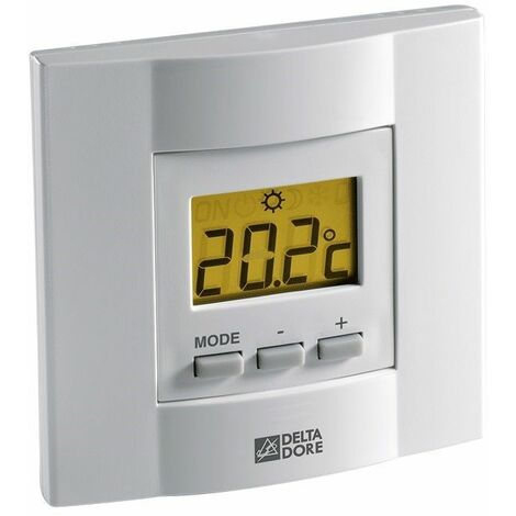 THERMOSTAT D'AMBIANCE À TOUCHES TYBOX 53 - TYBOX 53