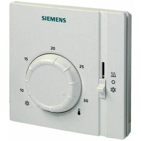Thermostat d'ambiance avec inverseur été/hiver