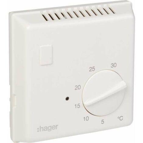Thermostat d'ambiance Classe II - Bi-métal - Hager