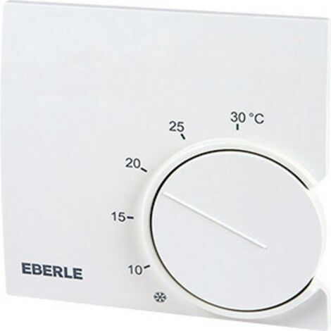 Thermostat dambiance en saillie, encastrable Eberle RTR 9121 5 à 30 °C