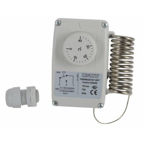 Thermostat d'ambiance étanche ERT 0/40°C