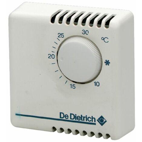 Thermostat dAmbiance Filaire Contact sec On-Off AD 140 De Dietrich Compatible toutes chaudières