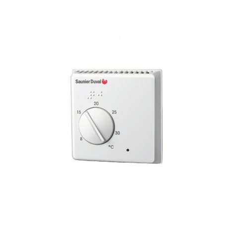 Thermostat dAmbiance Filaire Contact Sec On-Off Exabasic Saunier Duval compatible toutes chaudières