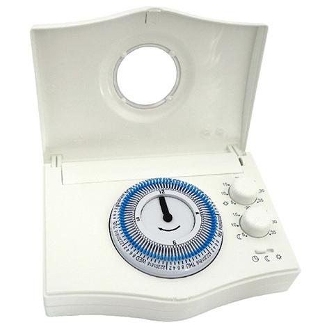 thermostat d 39 ambiance filaire horloge journali re. Black Bedroom Furniture Sets. Home Design Ideas